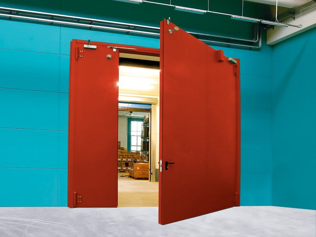 Дымогазонепроницаемые двери EIS 60 (ГОСТы Р 53307-009, Р 53303-2009)
