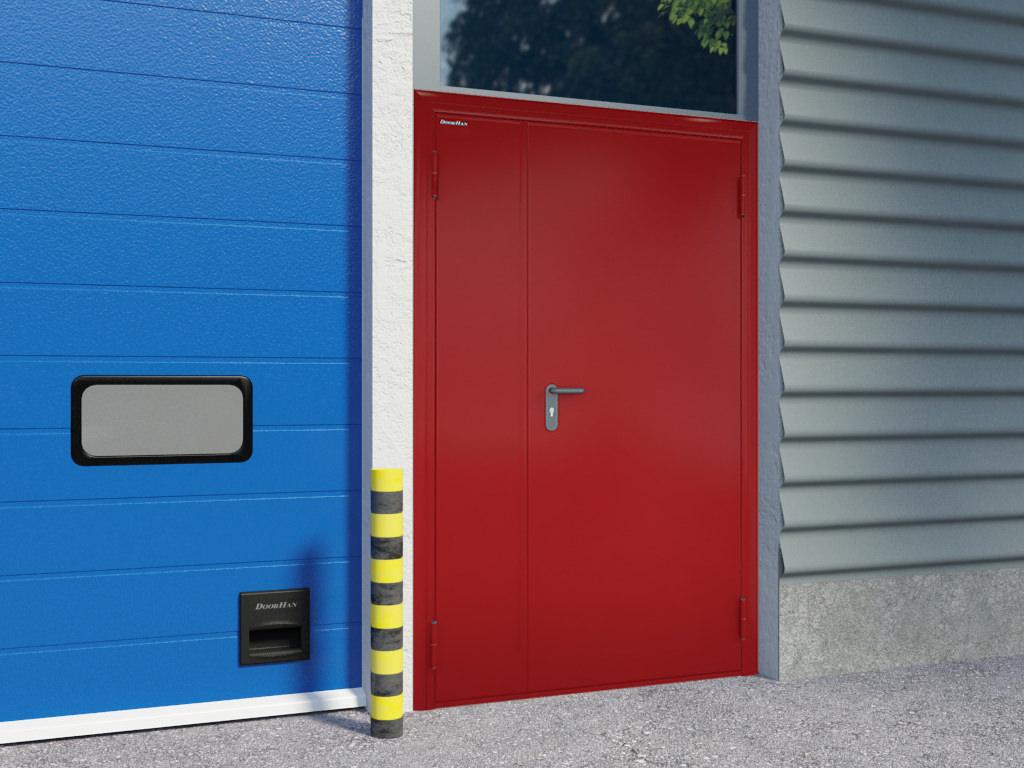 Огнестойкие металлические двери